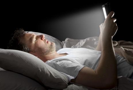 Blue Light Sleep Loss